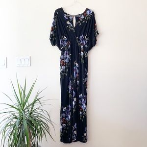 American Eagle Outfitters Floral Pant Jumpsuit